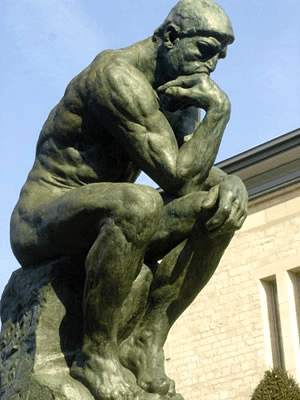 El Pensador, de Auguste Rodin