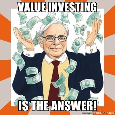 Value investing is the answer