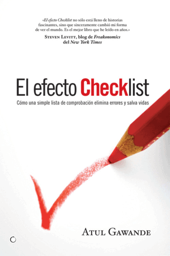 The Checklist effect of Atul Gawande