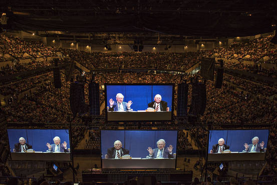 Berkshire Hathaway Annual Shareholders Meeting 2015