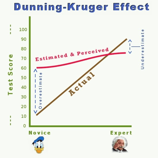 Dunning-Kruger effect: definition, examples and ways to avoid it
