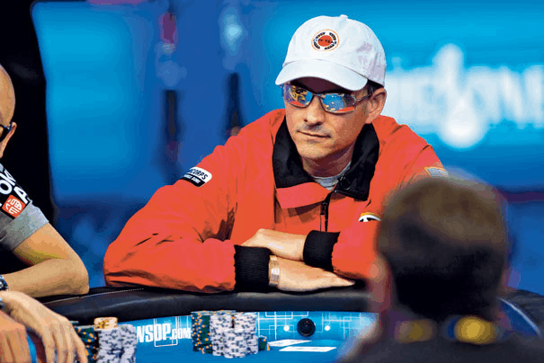 David Einhorn at the World Series of Poker