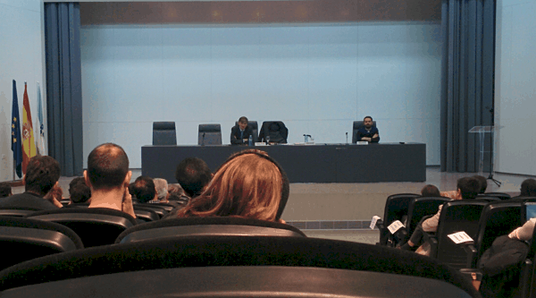 conference by Francisco García Paramés in Coruña