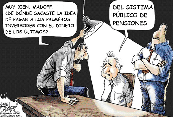 The public pension system and Madofff